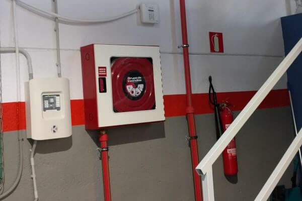 BIE de instalación contra incendios