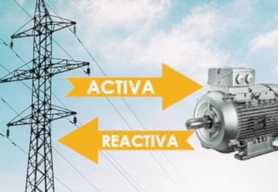 Ahorro compensación energía reactiva