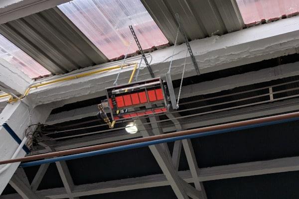 Calefacción equipo infrarrojos
