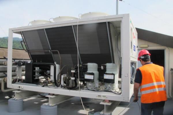 Enfriadora / chiller para aire acondicionado industrial