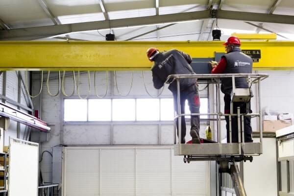 Empresa de mantenimientos industriales