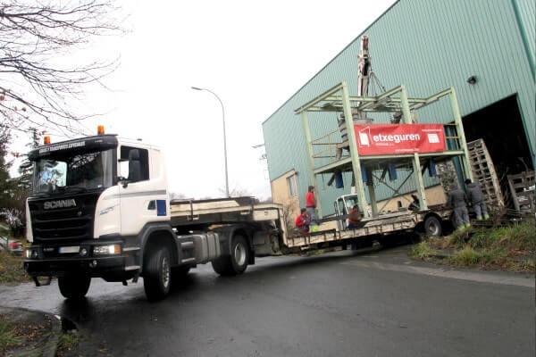 transporte maquinaria pesada