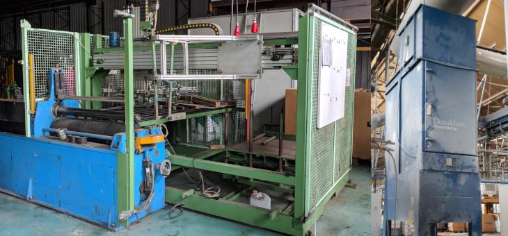Traslado de maquinaria industrial pesada