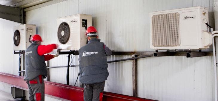 Nueva instalación de Aire Acondicionado en GHI Hornos Industriales