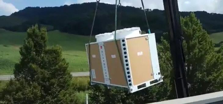Sustitución de equipo de Aire Acondicionado para Deguisa