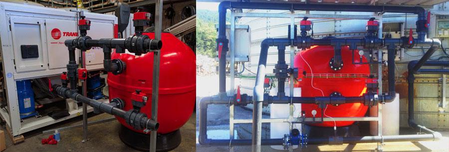 Etxeguren, S.L. se adjudica el pedido de un filtro de arena para TUBOS REUNIDOS