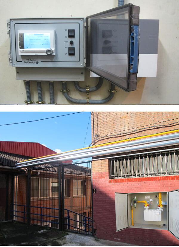 instalación calefacción bekoa