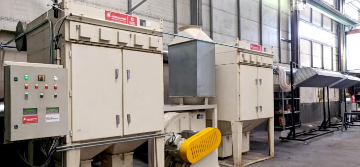 Nueva Instalación de Filtración para la empresa Taller J. Bordagaray