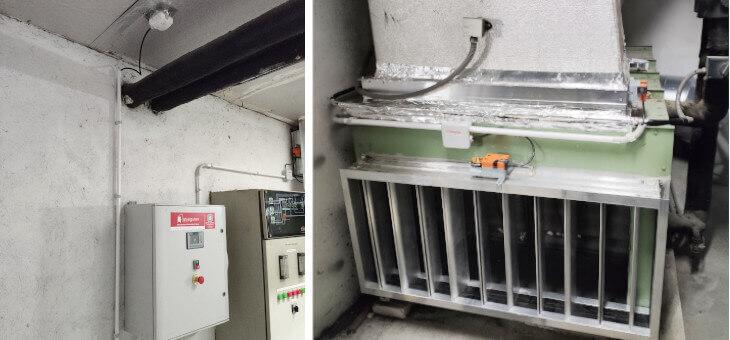Mejoras en la instalación de ventilación del edificio público Josu Murueta